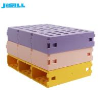 Buy cheap Eco Friendly Plastic Cooler Ice Blocks Pcr Tube Rack For Medicine from wholesalers