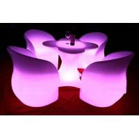 Wholesale 2014 led glowing chair rechargeable led light bar chair from china suppliers