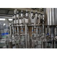Wholesale Stainless Steel Commercial Bottling Equipment , Beverage Bottled Water Filling Machine from china suppliers