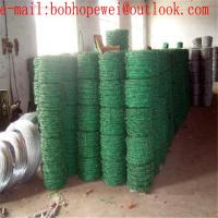 Buy cheap Galvanized /PVC/Razor/Barbed Wire for Security Fence /Barbed Wire in 1.6mm to 2.7mm for Security Fence from wholesalers
