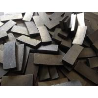 Buy cheap Granite blocks cutting segments/diamond cutting tools from wholesalers
