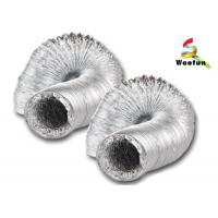 Quality Greenhouse application air ducting aluminum flexible duct for ventilation for sale