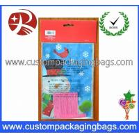 Wholesale HDPE Resealable Plastic Personalized Treat Bags Customized Logo For Festival from china suppliers