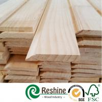 Quality Finger joint white primer interior building decoration wooden moldings for sale