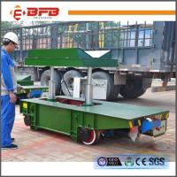 Wholesale V-deck Frame Coil Rail Flat Cart With Hydraulic Lifting China factory from china suppliers