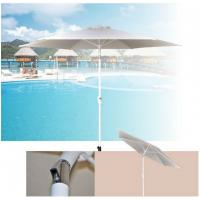 Wholesale Outdoor Patio Sun Shades 9 Foot White Canopy Tiltable Market Parasol Umbrella from china suppliers