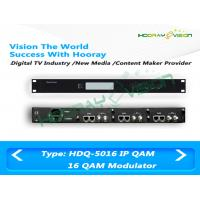 Wholesale 16 Channel lP QAM Digital TV Modulator Scrambler DTV Cable CATV System from china suppliers