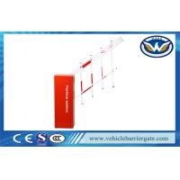 Quality AC 220V ± 10% Traffic Barrier Gate High Speed For Parking Lots / Toll Gates for sale