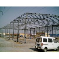 Quality Movable Prefabricated Industrial Steel Structures Fire Resistence Painted Single Layer Floors for sale