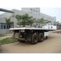 Wholesale 20 Feet  Flat Bed Semi-Trailer from china suppliers