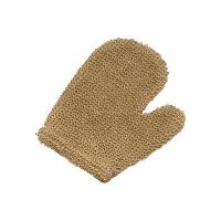Wholesale Body Wash Natural Hemp Exfoliating Bath Gloves 21x16 cm With Thumb from china suppliers