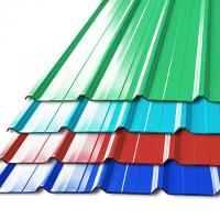 China Pre - Painted Galvalume Steel Building Roof Tiles / Aluminum Roof Sheet For Warehouse on sale