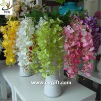 Wholesale UVG High quality orchid artificial flowers imported from china use for wedding ornaments from china suppliers