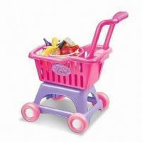 Wholesale Shopping Cart Toy in Vivid Color, Customized Specifications are Accepted from china suppliers