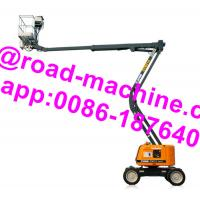 Wholesale GTBZ14 Model Heavy Construction Machinery 14m Articulated Boom Type Aerial Work Platform from china suppliers