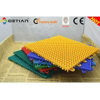 Wholesale Resilience Badminton Court Flooring Tile , Indoor Badminton Flooring from china suppliers