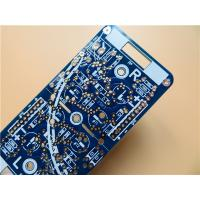 Buy cheap Heavy Copper PCB On 1.6mm FR4 blue soldermask With 2 Layer Copper from wholesalers