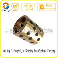 Wholesale All size for copper bushing ,brass bushing, bronze bushing with graphite from china suppliers