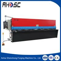 Wholesale QC11Y 6*2500 guillotine style true-cut mechanical shearing machine/cutting machine from china suppliers