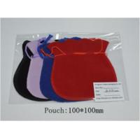 Wholesale Handmade Velvet Fabric Jewelry Gift Bags / Drawstring Jewelry Pouch from china suppliers