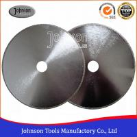 Wholesale EP Disc 01 Electroplated Continuous Rim Diamond Blade For Marble Cutting from china suppliers