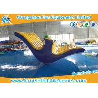 Wholesale Amazing Inflatable Water Totter Blow Up Water Park Heat Sealing For Kids / Adults from china suppliers