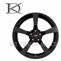 Wholesale Concave 5 Spoke Wheels , Forged One Piece Wheels Reduce Fuel Consumption from china suppliers