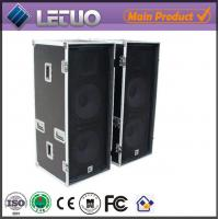Wholesale Aluminum flight case road case transport crate case dj speaker flight case from china suppliers
