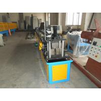 Buy cheap Gcr15 Steel Stud And Track Roll Forming Machine / Metal Roll Former 5.5KW from wholesalers