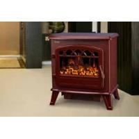 Wholesale log burning electric flame effect fires fireplace stove ND-181M chimenea electrica Red from china suppliers