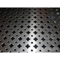 Wholesale Custom Made Galvanized PE / PVC Coated Safety Perforated Metal Sheet For Railway from china suppliers