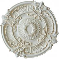 Quality PU medallion ceiling medallion gold sketch effect pu cornice moulding pu ceiling light pu medallion (HM-009) for sale