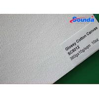 Wholesale Water Based Ink Printed Cotton Canvas Fabric with Woven Surface 360g/sqm Weight from china suppliers