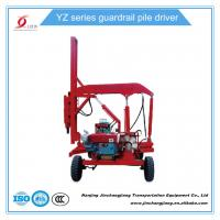 Quality YZ 260 best selling Guality Assurance Hydraulic Metal Guardrail Installing Machine for sale