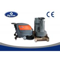Wholesale Electric Battery Powered Hard Floor Brush Scrubber Machine 100 Litre Recovery Tank from china suppliers