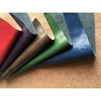 Wholesale Genuine Leather Fabric with natural leather composition and pu coating from china suppliers