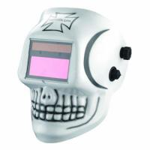 Wholesale SKULL Painted Welding Helmet TIG MIG ARC Welding Auto Darkening Welding Mask from china suppliers