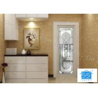 Wholesale Insulated Glass Panel For Doors , Agon Filled Privacy Oval Entry Door Glass Inserts from china suppliers