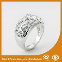 Wholesale Custom Silver Diamond Fashion Rings Rose Gold Rings For Women from china suppliers