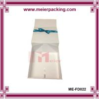 Wholesale Customized White Origami Clothing Gift Boxes Deboss Logo ME-FD022 from china suppliers