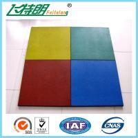Wholesale Childrens Safety Protecting Rubber Mat For Playground of 500x500x25 cm from china suppliers