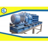 Wholesale 30mm Cutter Thickness Wood Pallet Waste Shredder , Blue / Green Waste Shredder from china suppliers