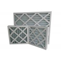 Wholesale Custom Electronics Pleated Panel Air Filters Hvac With Large Dust Capacity from china suppliers