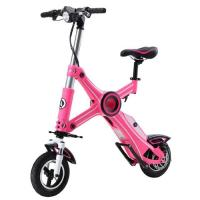 Wholesale Foldable Electric Scooter Pink With Seat from china suppliers