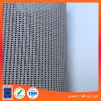 Wholesale gray color Textilene 2X1 mesh fabric PVC coated Polyester for outdoor furnitures from china suppliers