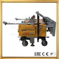 Wholesale EZ RENDA Professional Tech Automatic Rendering Machine With Cement Mixer Plaster from china suppliers