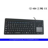 Buy cheap Waterproof Medical Keyboard with Spanish Layout, Touchpad, Numeric Pad, and Function Keys from wholesalers
