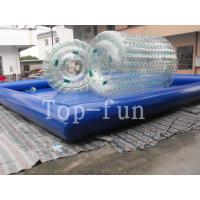 Wholesale Transparent Inflatable Water Roller For Sea / Lake / Swimming Pools from china suppliers