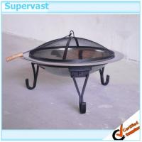 Wholesale Foldable Outdoor Garden Furniture 30 Inch Steel Fire Pit with Wood Fuel from china suppliers