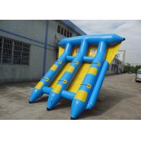 Quality 0.9mm PVC Tarpaulin Waterproof Towable Inflatables Water Sports for sale